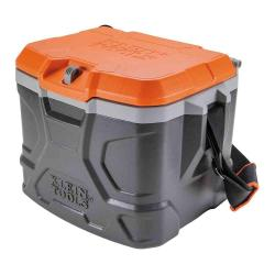 Klein Tools - 55600 - Cooler -- Tradesman Pro - Lunch Box - Gray/Orange