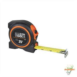 Klein Tools 93225 - Tape Measure - 25 Ft Length - Magnetic Double Hook