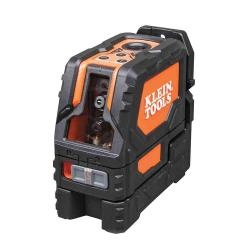 Klein Tools 93LCLS - 5 Inch Self-Leveling Cross-Line Laser Level with Plumb Spot