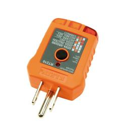 Klein Tools - RT210 - GFCI Receptacle Tester -- Works on GFI Outlets - Conforms to UL Std 1436, Certified to CSA Std C22.2 #160