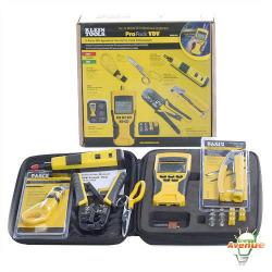 Klein Tools - VDV001-819 - VDV Scout Pro Tester Kit -- Tests voice (RJ11/12), data (RJ45), and video (F-connector coax) connections.