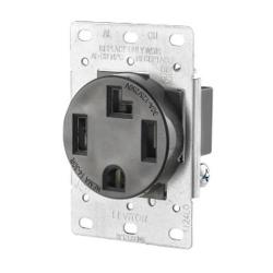 Leviton 278-S00 - 4W Power Receptacle - 30 Amp