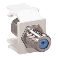 Leviton - 41084-FWF - F-Type Adapter