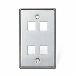 Leviton - 43080-1S4 - Wallplate