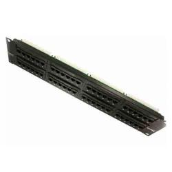 Leviton - 5G596-U48 - Patch Panel -- CAT5e - 48 Port - 2RU
