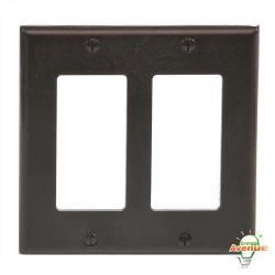 Leviton - 80409 - Decora - Thermoset Wallplate