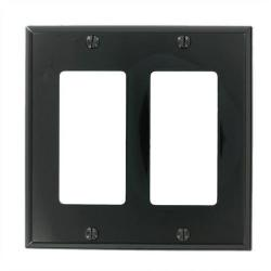 Leviton - 80409-E - Decora - Thermoset Wallplate