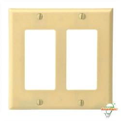 Leviton - 80409-I - Decora - Thermoset Wallplate