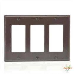 Leviton - 80411 - Decora - Thermoset Wallplate