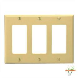 Leviton - 80411-I - Decora - Thermoset Wallplate