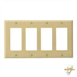Leviton - 80412-I - Decora - Thermoset Wallplate