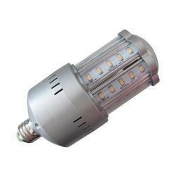 Lighting Efficient Design - LED-8028-E30 - LED Stubby Post Top Street Light Lamp -- 20 Watt - Medium (E26) Base - 120/277V - 81 CRI - 40 SMD LEDs - 3000K Warm White