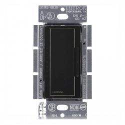 Lutron - MALV-1000-BL - Maestro Magnetic Low Voltage Smart Dimmer -- Single Pole/Multi-Location - Tap and Rocker Switch - 800 Watt - 120V - Black