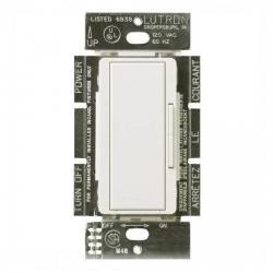 Lutron - MALV-1000-WH - Maestro Magnetic Low Voltage Smart Dimmer -- Single Pole/Multi-Location - Tap and Rocker Switch - 800 Watt - 120V - White