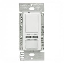 Lutron MS-B102-WH - Maestro Dual Technology Occupancy Sensor Switch