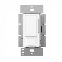 Lutron - MSCL-VP153M-WH - Maestro Vacancy Sensor -- Passive Infrared - Single Pole, 3-Way, Multi-Location - CFL, LED, Incandescent and Halogen - 120V - White
