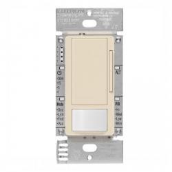 Lutron - MS-Z101-LA - Maestro Occucancy Sensor -- Passive Infrared - Single Pole, 3-Way, Multi-Location - 120/277V - Light Almond