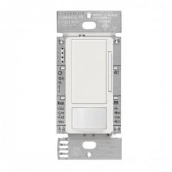 Lutron - MS-Z101-WH - Maestro Occupancy Sensor -- Passive Infrared - Single Pole, 3-Way, Multi-Location - 120/277V - White