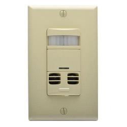 Leviton - OSSMT-GDI - Occupancy Sensor -- Ivory - UL listed - 5 Year Warranty - Wall Mount