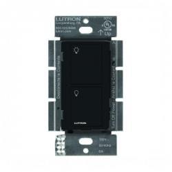 Lutron PD-6ANS-BL Caseta Neutral In Wall Switch -- Black - 6A - 720 Watt