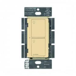 Lutron PD-6ANS-IV Caseta Neutral In Wall Switch -- Ivory - 6A - 720 Watt