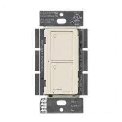 Lutron PD-6ANS-LA Caseta Neutral In Wall Switch -- Light Almond- 6A - 720 Watt