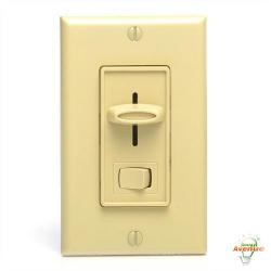 Lutron - SFSQ-LF-IV - Skylark - Quiet 3-Speed Fan Control Light Switch