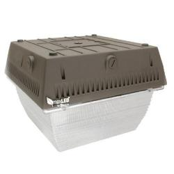 MaxLite 76586 - 45 Watt LED Canopy Light - 5000K - Bronze -- CAN45U50B - Replaces 250W Metal Halide Fixture - 120/277V - 4880 Lumens - 80 CRI