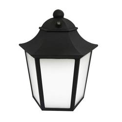 Maxlite - 77029 - ML4LS12MOLB - Medium Outdoor LED Lantern -- Black - 12 Watt - 40 Watt Incandescent Equal - 2700K