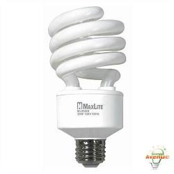 Maxlite - MLM30SWW-110 - 72264 - Spiral CFL -- 125 Watt Incandescent Equivalent - 30 Watt - 2700K - 2000 Lumens