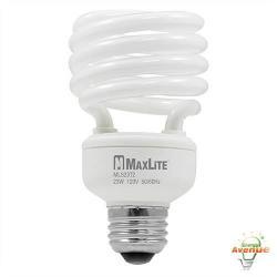 Maxlite - MLS23T2WW-110 - 70381 - Spiral CFL -- 100 Watt Incandescent Equivalent - 23 Watt - 2700K - 1600 Lumens