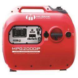 Milbank - MPG2000IP - Digital Inverter Portable Generator -- 1800 Watt - 12V DC - 79cc