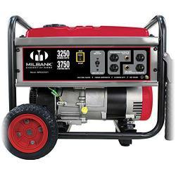 Milbank - MPG55004 - Portable Generator -- 5500K - 6.6 Gallon - 12V DC - OHV 4-Stroke Engine - 357cc