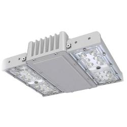 Maxlite - 97522 - PKGS45HT550MS - LED Square Canopy Light Fixture -- Gray - Motion Sensor - 43 Watt - 250 Watt Metal Halide Equal - 5000K