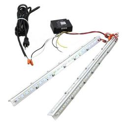 MaxLite - RKL23U4541DV - 2x2 RKL-Retrofit Kit Strips -- 45 Watt - 85 CRI - 120/277V - Dimming - 4100K Cool White - White Finish