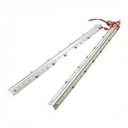 MaxLite - 73011 - 2x4 RKL Retrofit Kit Strips -- 45 Watt - 83 CRI - 120/277V - Dimming - 3500K Neutral White - White Finish
