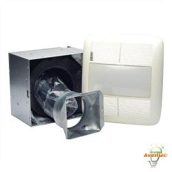 Nutone - RN110L - Bathroom Fan - Ultra Pro Series -- 110 CFM Single-Speed - Energy Star Rated
