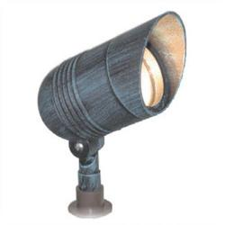 Orbit Industries - 1061-BR - Bronze Cast Aluminum Bullet Landscape Light -- 12V - 50 Watt MR16 Bulb, 75 Watt Max - Tempered Glass Lens - GS-85 PVC Spike - CO-3 Connector - Bronze Finish