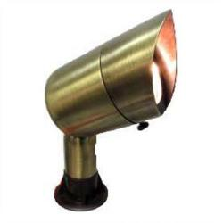 Orbit Industries - B126-AG - Aged (Acid) Green Cast Brass Landscape Light