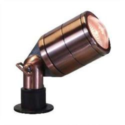 Orbit Industries - B140-AB - Antique Brass Cast Brass Special Bullet Landscape Light