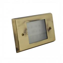 Orbit Industries - B600C-AB - Cover Plate for B60H -- Made from Solid Brass - Antique Brass Finish