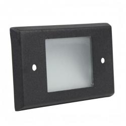 Orbit Industries - B600C-BK - Cover Plate for B60H -- Made from Solid Brass - Black Powder Coat Finish