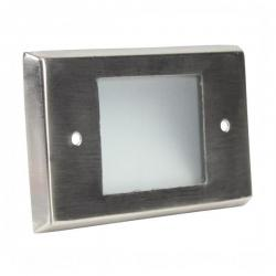 Orbit Industries - B600C-SS - Cover Plate for B60H -- Made from Stainless Steel - Brushed Stainless Steel Finish