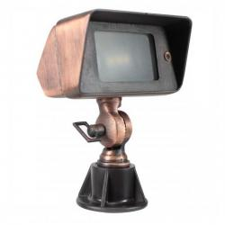 Orbit Industries - B610-ARB - Architectural Bronze Cast Brass Rectangle Landscape Spot Light