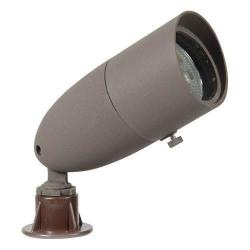 Orbit Industries - L1071-BR-6-CW - LED Bullet Light - Bronze -- 6 Watts - 12V - 4700K - Cool White