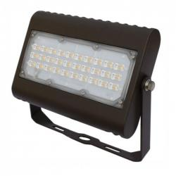 Orbit LFL6-50W-CW-T - 50W LED Flood Light - 5000K -- With Trunnion Mount - 175W Metal Halide Equivalent - 6179 Lumens - 80 CRI - Type II Distribution - 120-277V - Bronze