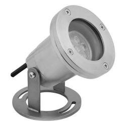 Orbit Industries - LSS510-WW - LED Underwater Directional Light - Stainless Steel -- 3 Watts - 12V - 3000K - Warm White