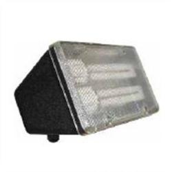 Orbit Industries - P626 - Plastic Compact Fluorescent Flood Light Fixture -- 2x PL13 Lamp Included - 120V - Acrylic Lens - Black Finish