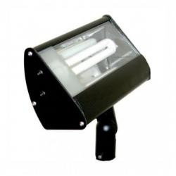 Orbit Industries - S613-WH - White Aluminum Compact Fluorescent Flood Light Fixture