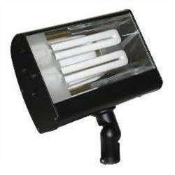 Orbit Industries - S626-GN - Green Aluminum Compact Fluorescent Wide Flood Light Fixture